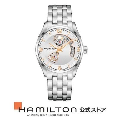 ハミルトン 公式 腕時計 Hamilton Jazzmaster Open Heart ジャズマスター オープンハート メンズ メタル   正規品 時計 メンズ腕時計 ブランド 機械式自動巻