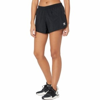 アディダス adidas Originals レディース ショートパンツ ボトムス・パンツ 3-Stripes Shorts Black