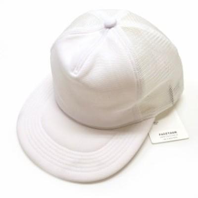 【中古】ファセッタズム FACETASM × KIJIMA TAKAYUKI メッシュキャップ 帽子 00 ホワイト 白 YA-CAP-U03 メンズ