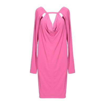 ピンコ PINKO ミニワンピース&ドレス フューシャ S アセテート 75% / ナイロン 17% / ポリウレタン 8% ミニワンピース&ドレス