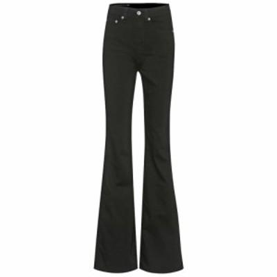 ラグandボーン Rag and Bone レディース ジーンズ・デニム ボトムス・パンツ Jane high-rise flared jeans No Fade Black