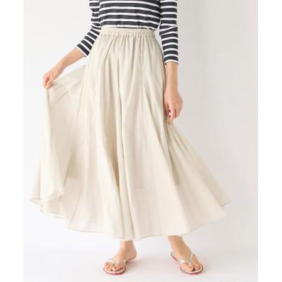 【手洗い可】綿ローンライトスカート