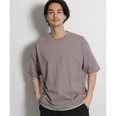 tシャツ Tシャツ ペーパーライク天竺Tシャツ