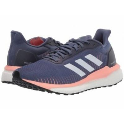 adidas アディダス レディース 女性用 シューズ 靴 スニーカー 運動靴 Solar Drive 19 Tech Ink/Footwear White/Glow Pink【送料無料】