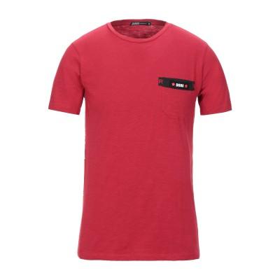 DOOA T シャツ レッド S コットン 100% T シャツ