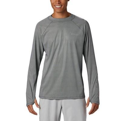 (取寄)コロンビア メンズ ターミナル ディフレクター ゼロ モック ロングスリーブ シャツ Columbia Men's Terminal Deflector Zero Mock LS Shirt Bla 送料無料