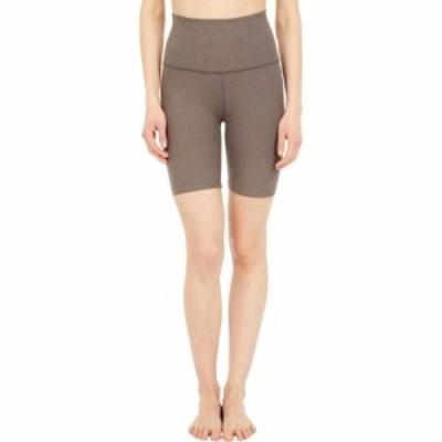 ビヨンドヨガ Beyond Yoga レディース ショートパンツ ボトムス・パンツ Spacedye High Waisted Biker Shorts Cocoa Brown