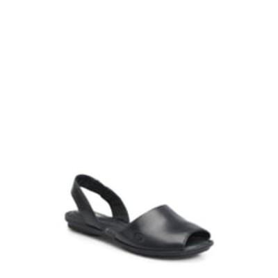 バーン サンダル シューズ レディース Trang Sandal Black Leather