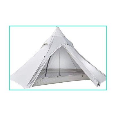 ZJDU Tents for Camping Tent Oudoor 3 Season 2 Person 1KG Camping Tent Nylon Silicon Coating Rodless Tent Camping Tent (Color : Grey, Size :