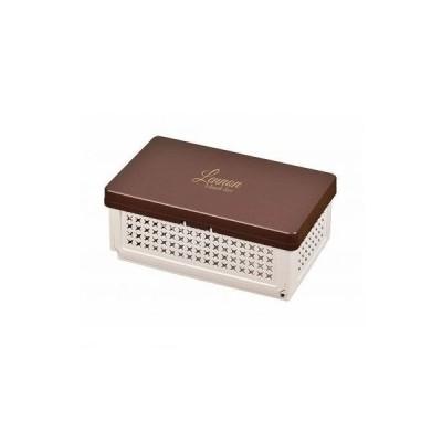 パール金属 [D-2307] レノン 折りたたみランチボックス【仕切付】ブラウン D2307【キャンセル不可】ポイント5倍