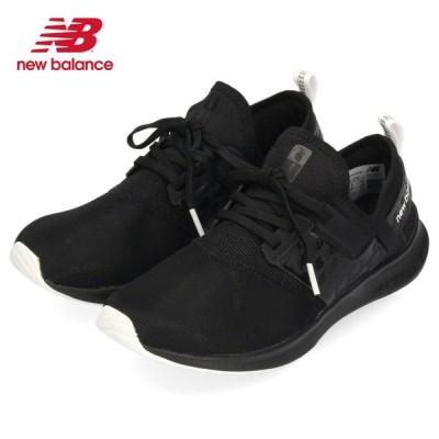ニューバランス レディース スニーカー new balance NB NERGIZE SPORT W FB1 72101 ブラック スリッポン 軽量 ワイズD 黒