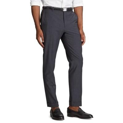 ラルフローレン カジュアルパンツ ボトムス メンズ Men's Wool-Blend Suit Trouser Charcoal Heather