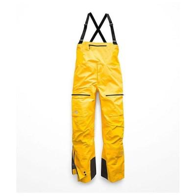 (取寄)ノースフェイス メンズ サミット L5 ゴアテックス プロ フル ジップ ビブ The North Face Men's Summit L5 GTX Pro Full Zip Bib Canary Yellow 送料無料