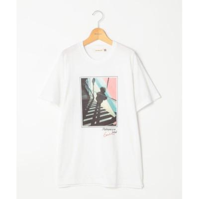 (NOLLEY'S/ノーリーズ)Artist Tシャツ/レディース レッド・ピンク系3