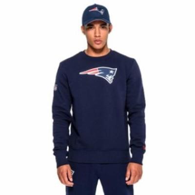 new-era ニュー エラ ファッション 男性用ウェア パーカー new-era new-england-patriots-team-logo-crew-neck