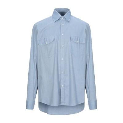MARECHIARO 12 シャツ アジュールブルー L コットン 100% シャツ