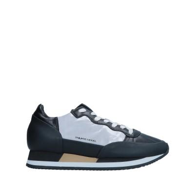 フィリップ モデル PHILIPPE MODEL スニーカー&テニスシューズ(ローカット) ブラック 36 革 スニーカー&テニスシューズ(ローカッ