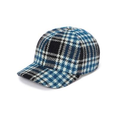 (SHIPS WOMEN OUTLET/シップス ウィメン アウトレット)GI N GI:CHK CAP/レディース ブルー系