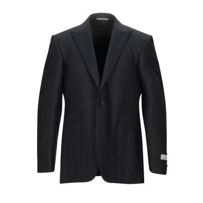 カナーリ CANALI テーラードジャケット ブラック 50 ウール 100% テーラードジャケット