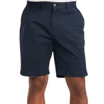 """トミー ヒルフィガー メンズ カジュアルパンツ ボトムス Men's  TH Flex Stretch 9"""" Shorts Navy Blazer"""