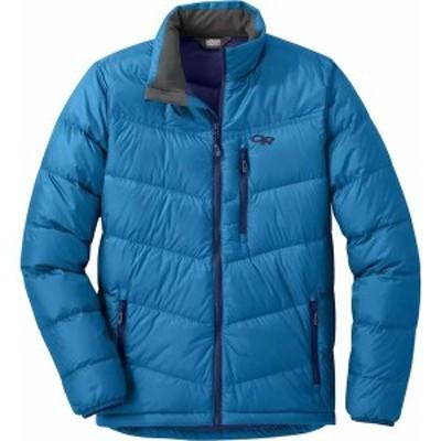 アウトドアリサーチ メンズ ジャケット・ブルゾン アウター Transcendent Hooded Down Jacket Cascade