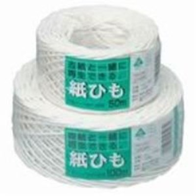 (まとめ買い)マルアイ 紙ひも カヒ-10W NO.10 白 【×10セット】
