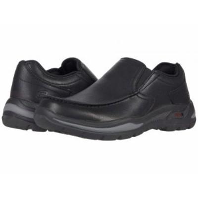 SKECHERS スケッチャーズ メンズ 男性用 シューズ 靴 スニーカー 運動靴 Arch Fit Motley Hust Black【送料無料】