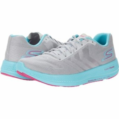 スケッチャーズ SKECHERS レディース シューズ・靴 Go Run Razor 3+ Grey/Aqua