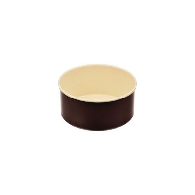 パール金属 ラフィネ ふっ素加工 デコレーションケーキ 焼型 12cm 底取れ式 D-6101
