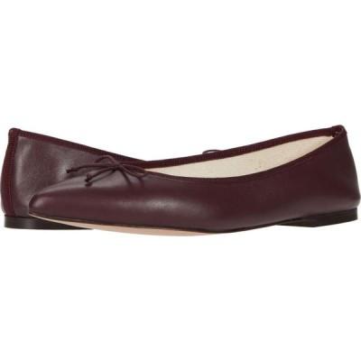 ジェイクルー J.Crew レディース スリッポン・フラット シューズ・靴 Leather Gemma Ballet Vintage Burgundy