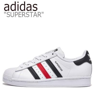 adidas SUPERSTAR アディダス ホワイト ブラック レッド スーパースター FX2328