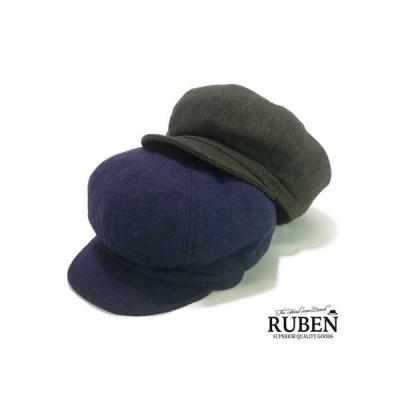 ★AW Rubenツイードキャスケット ヤング帽子 14