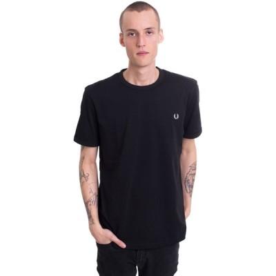 フレッドペリー Fred Perry メンズ Tシャツ トップス - Ringer Black - T-Shirt black