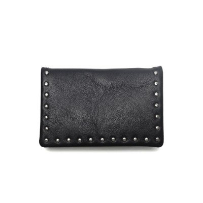 PATRICK STEPHAN / Leather card case 'corner studs' KS カードケース MEN 財布/小物 > 名刺入れ