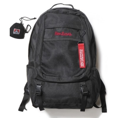 BENCH AT THE GREENE / 《BEN DAVIS》DAYPACK+ECO BAG/エコバッグ付き WOMEN バッグ > ショルダーバッグ