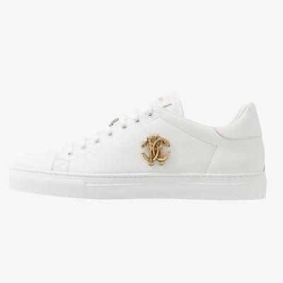 ロベルトカヴァリ メンズ 靴 シューズ Trainers - white