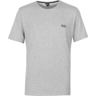 ヒューゴ ボス Boss メンズ Tシャツ ロゴTシャツ トップス Small Logo T Shirt Grey