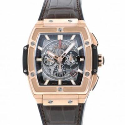 ウブロ HUBLOT スピリット・オブ・ビッグバン キングゴールド 601.OX.0183.LR グレー文字盤 中古 腕時計 メンズ
