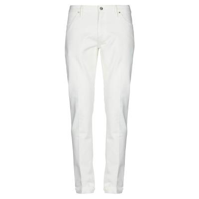 PT Torino パンツ ホワイト 38 コットン 98% / ポリウレタン 2% パンツ