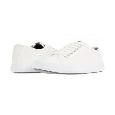 Ben Sherman ベンシャーマン メンズ 男性用 シューズ 靴 スニーカー 運動靴 Conall Lo - White PU
