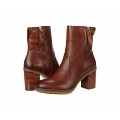 Pikolinos レディース 女性用 シューズ 靴 ブーツ アンクル ショートブーツ Pompeya W9T-8803 Cuero【送料無料】