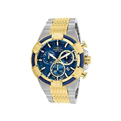 Invicta Men's Bolt Quartz Stainless-Steel Strap, Two Tone, 30 Casual Watch