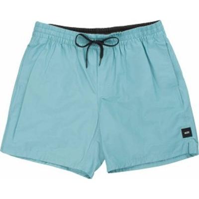 """バンズ メンズ ハーフパンツ・ショーツ ボトムス Vans Men's Primary II 17"""" Volley Shorts Cameo Blue"""