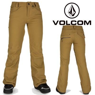 ボルコム ウェア パンツ 20-21 VOLCOM WOMEN'S SPECIES STRETCH PANT BUK-Burnt Khaki H1351905 スノーボード 日本正規品