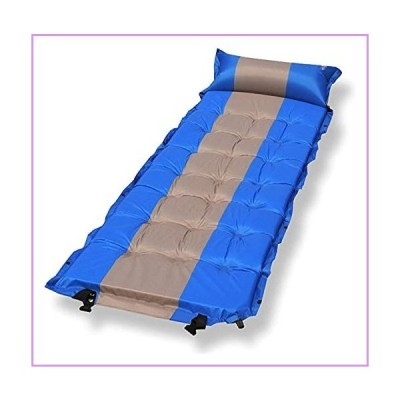 DYOCUIOC Self Inflating Air Mattress Outdoor Camping Mat Infatable Sleeping Pad with Pillow Joinable Air Bed