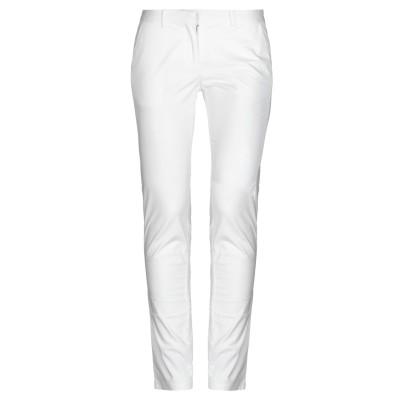 フランキー モレロ FRANKIE MORELLO パンツ ホワイト 40 コットン 97% / ポリウレタン 3% パンツ