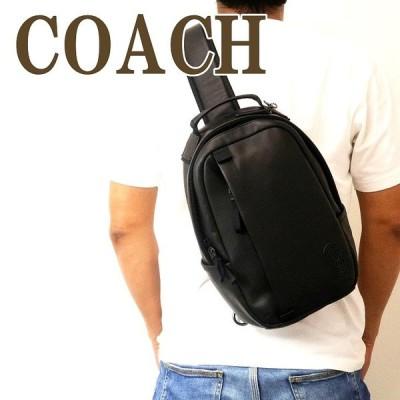 コーチ COACH バッグ メンズ ショルダーバッグ 斜め掛け ワンショルダー Cロゴ ブラック 黒 レザー 89908QBBK