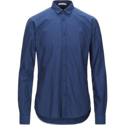 スコッチ&ソーダ SCOTCH & SODA メンズ シャツ トップス solid color shirt Blue