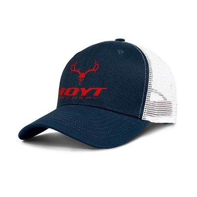 メンズ 野球帽 ファッション 調節可能 メッシュ アーチェリー レッド ダッド トラッカー ゴルフハット US サイズ: One Size