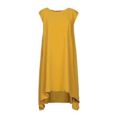 ANNIE P. ミニワンピース&ドレス オークル 38 ポリエステル 100% ミニワンピース&ドレス